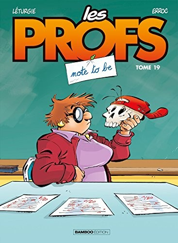 """Afficher """"Les profs. n° 19<br /> Note to be"""""""
