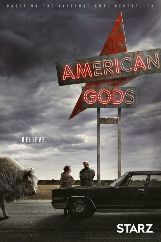 American gods n° 1 American gods - Saison 1