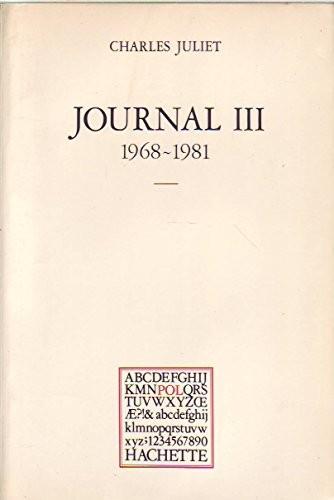 Journal n° 3 Journal III, 1968-1981