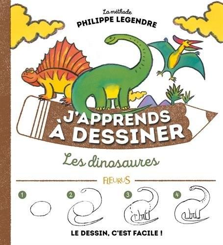J'apprends à dessiner J'apprends à dessiner les dinosaures