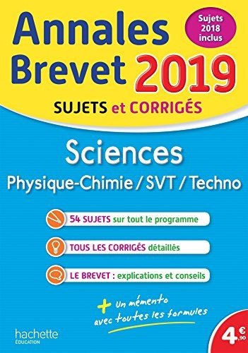 Physique chimie, technologie, SVT