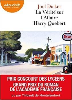 vignette de 'La vérité sur l'affaire Harry Quebert (Joël Dicker)'