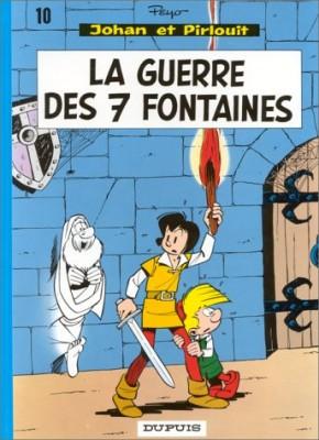 """Afficher """"Johan et Pirlouit n° 10 La Guerre des 7 fontaines"""""""