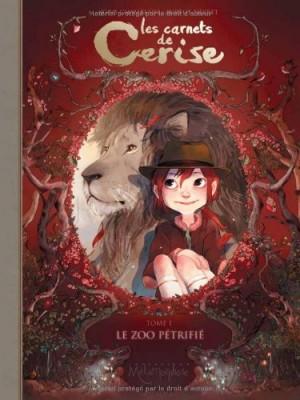 vignette de 'Les carnets de Cerise n° 1<br /> Le zoo pétrifié (Joris Chamblain)'