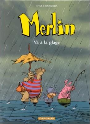 """Afficher """"Merlin. n° 3 Merlin va à la plage"""""""