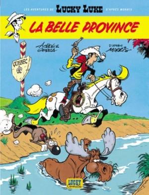 """Afficher """"Les aventures de Lucky Luke d'après Morris n° 1La Belle Province"""""""