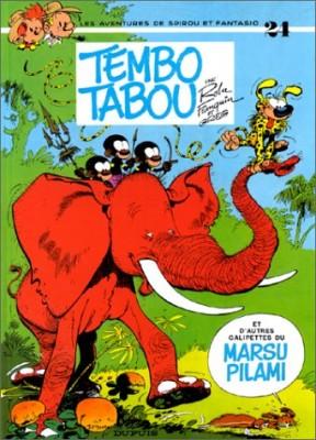 """Afficher """"Spirou et Fantasio n° 24 Tembo Tabou et d'autres galipettes du Marsupilami"""""""