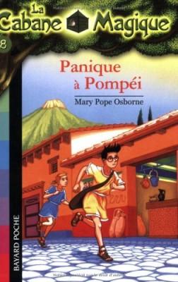 """Afficher """"La cabane magique n° 08 Panique à Pompéi"""""""