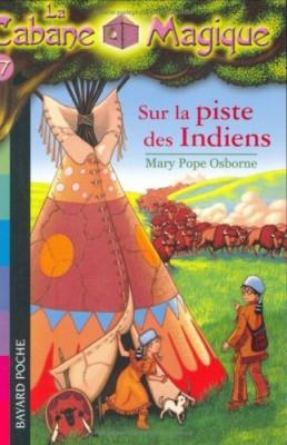 """Afficher """"Cabane magique (La) n° 17 Sur la piste des Indiens"""""""