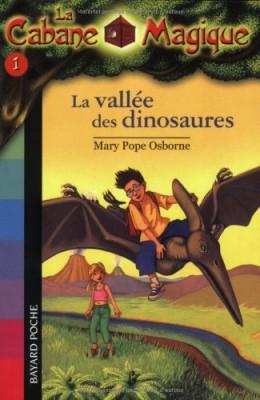 """Afficher """"La Cabane Magique n° 1 La Vallée des dinosaures"""""""