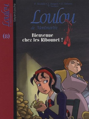 """Afficher """"Loulou de Montmartre n° 8 Bienvenue chez les Ribounet !"""""""