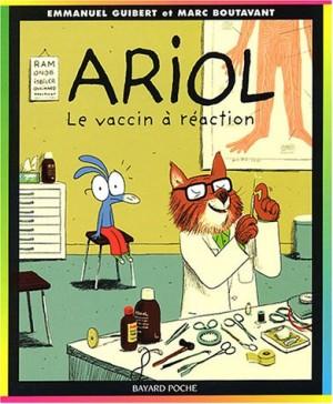 """Afficher """"Ariol n° 4 Le vaccin à réaction"""""""