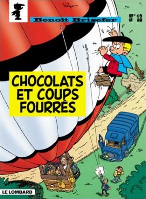 """Afficher """"Benoît Brisefer n° 12 Chocolats et coups fourrés"""""""