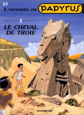 """Afficher """"Papyrus n° 23 Le Cheval de Troie - 1"""""""
