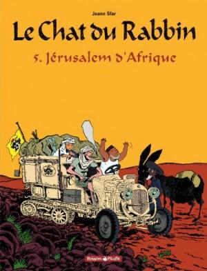 """Afficher """"Le chat du rabbin n° 5 Jérusalem d'Afrique"""""""