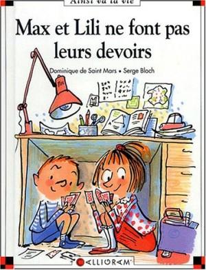 """Afficher """"Max et Lili Max et Lili ne font pas leurs devoirs"""""""