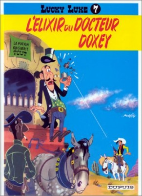 "Afficher ""Lucky Luke n° 7 L'Elixir du Docteur Doxey"""
