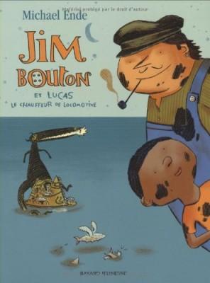 """Afficher """"Jim Bouton et Lucas le chauffeur de locomotive n° 1 La Cité des Dragons"""""""