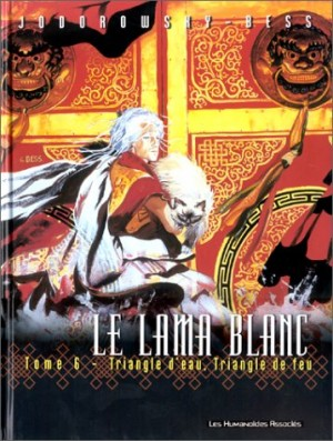 "Afficher ""Le lama blanc. n° 6 Triangle d'eau, triangle de feu"""