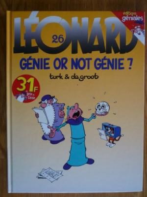 "Afficher ""Léonard n° 26 Léonard, génie or not génie ?"""