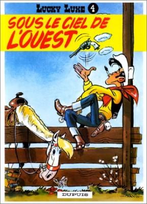"""Afficher """"Lucky Luke n° 4Sous le ciel de l'Ouest"""""""