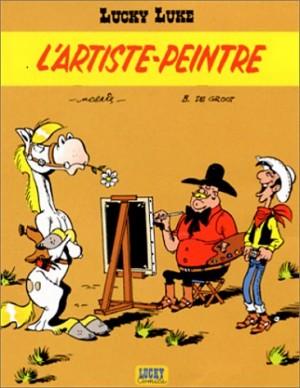 """Afficher """"Lucky Luke n° 40L'artiste peintre"""""""