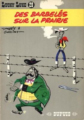"Afficher ""Lucky Luke n° 29 Des barbelés sur la prairie"""