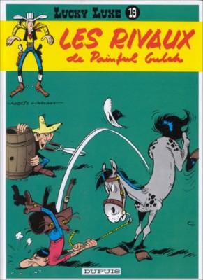 """Afficher """"Lucky Luke n° 19 Les rivaux de Painful Gulch"""""""