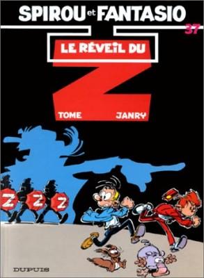 """Afficher """"Les Aventures de Spirou et Fantasio n° 37 Le réveil du Z"""""""