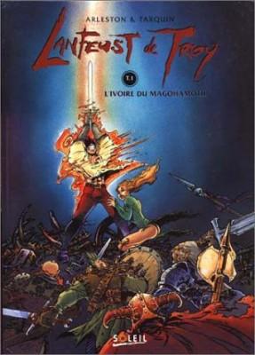 """Afficher """"Troy (les mondes de) n° 1 L'Ivoire du Magohamoth"""""""