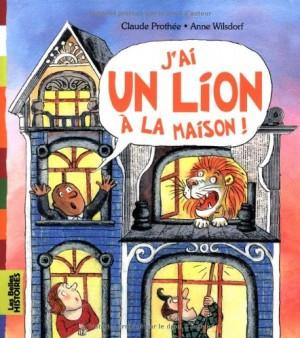 """Afficher """"J'ai un lion à la maison !"""""""