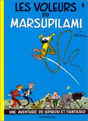 "Afficher ""Spirou et Fantasio n° 5 Les voleurs du Marsupilami"""