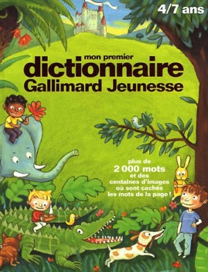 """Afficher """"Mon premier dictionnaire Gallimard jeunesse"""""""