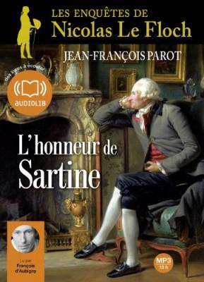 vignette de 'L'honneur de Sartine (Jean-François Parot)'