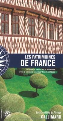 """Afficher """"Les patrimoines de France"""""""