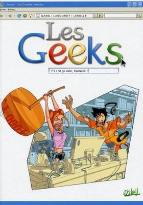 "Afficher ""Les geeks n° 3Si ça rate, formate !"""