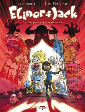 """Afficher """"Élinor & Jack n° 1Une porte super mystérieuse"""""""