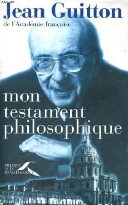 """Afficher """"Mon Testament philosophique"""""""