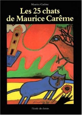 """Afficher """"Les 25 chats de Maurice Carême"""""""