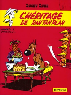 "Afficher ""Lucky Luke n° Tome 11L'héritage de Rantanplan"""