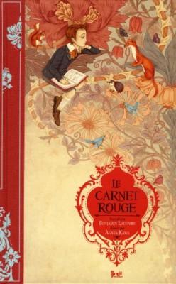 vignette de 'Le carnet rouge (Benjamin Lacombe)'