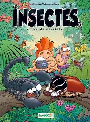 """Afficher """"Insectes (Les) n° 2 insectes en bande dessinée (Les)"""""""
