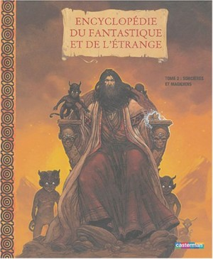 """Afficher """"Encyclopédie du fantastique et de l'étrange n° 2<br /> Sorcières et magiciens"""""""