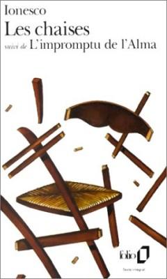 """Afficher """"Les chaises, farce tragique suivi de  L'impromptu de l'Alma ou le caméléon du berger"""""""
