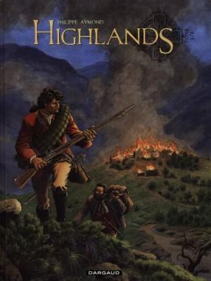 Couverture de Highlands : 2 : Le survivant des eaux noires