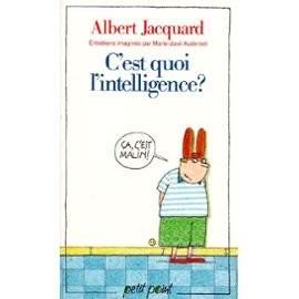 """Afficher """"C'est quoi l'intelligence ?"""""""