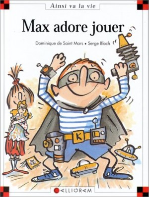 "Afficher ""Max adore jouer"""