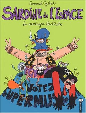 """Afficher """"Sardine de l'espace n° 9 La montagne électorale"""""""
