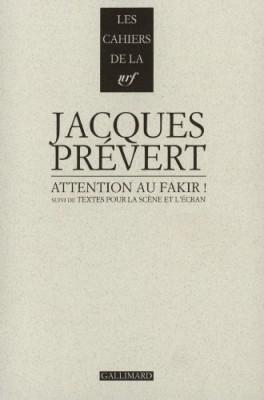 "Afficher ""Attention au fakir !"""