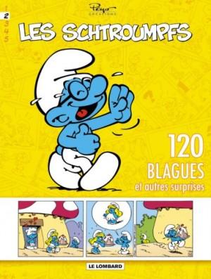 """Afficher """"120 blagues de Schtroumpfs n° 2 Les Schtroumpfs."""""""